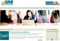 El portal de la Universidad Nueva Esparta cambia su cara en internet.