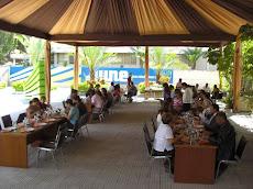 Almuerzo Universidad Nueva Esparta XX Aniversario. Plaza de las Trinitarias
