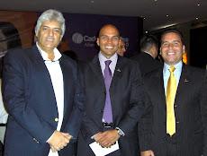 PREVENTA 2010 De izq a derecha Juan Miguel Avalos , Edgar Angarita, Delfín Carrasquero