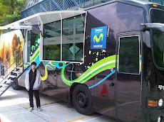 BUS BLACKBERRY en las instalaciones de la Universidad Nueva Esparta en promocion de Smartphones