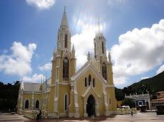 Iglesia de la Virgen del Valle en Margarita y patrona de la UNE