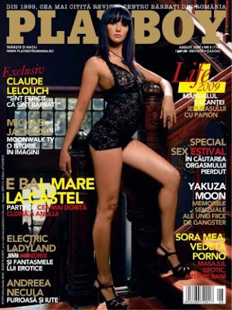 Playboy Romania - August 2009