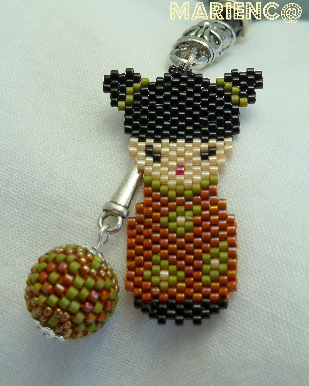 Mi pequeño joyero: Kokeshi y bolita con delicas
