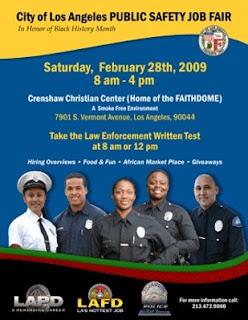 Lacityorgcd13 city of los angeles public safety job fair for La city jobs