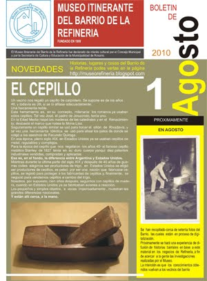 MUSEO ITINERANTE DEL BARRIO DE LA REFINERIA - ROSARIO (Santa Fe)