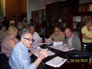 Una reunión plenaria de la Junta Central de Estudios Históricos de la Ciudad de Buenos Aires