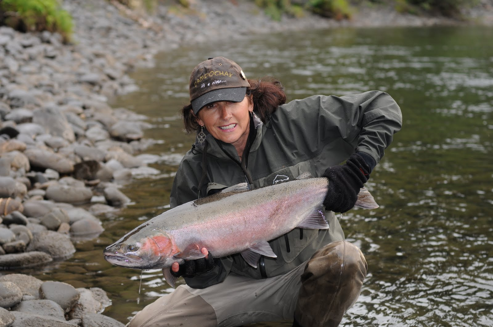 The Trout Huntress