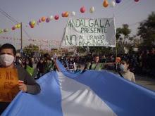 marcha en Andalgalá