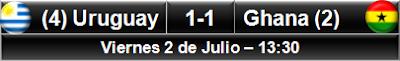 Uruguay (4) 1-1 (2) Ghana