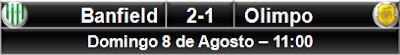 Banfield 2-1 Olimpo Bahía Blanca