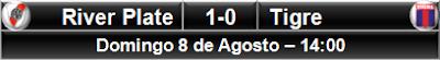 River Plate 1-0 Tigre