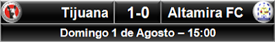 Xoloitzcuintles Tijuana 1-0 Estudiantes Altamira