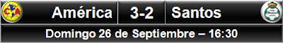América 3-2 Santos