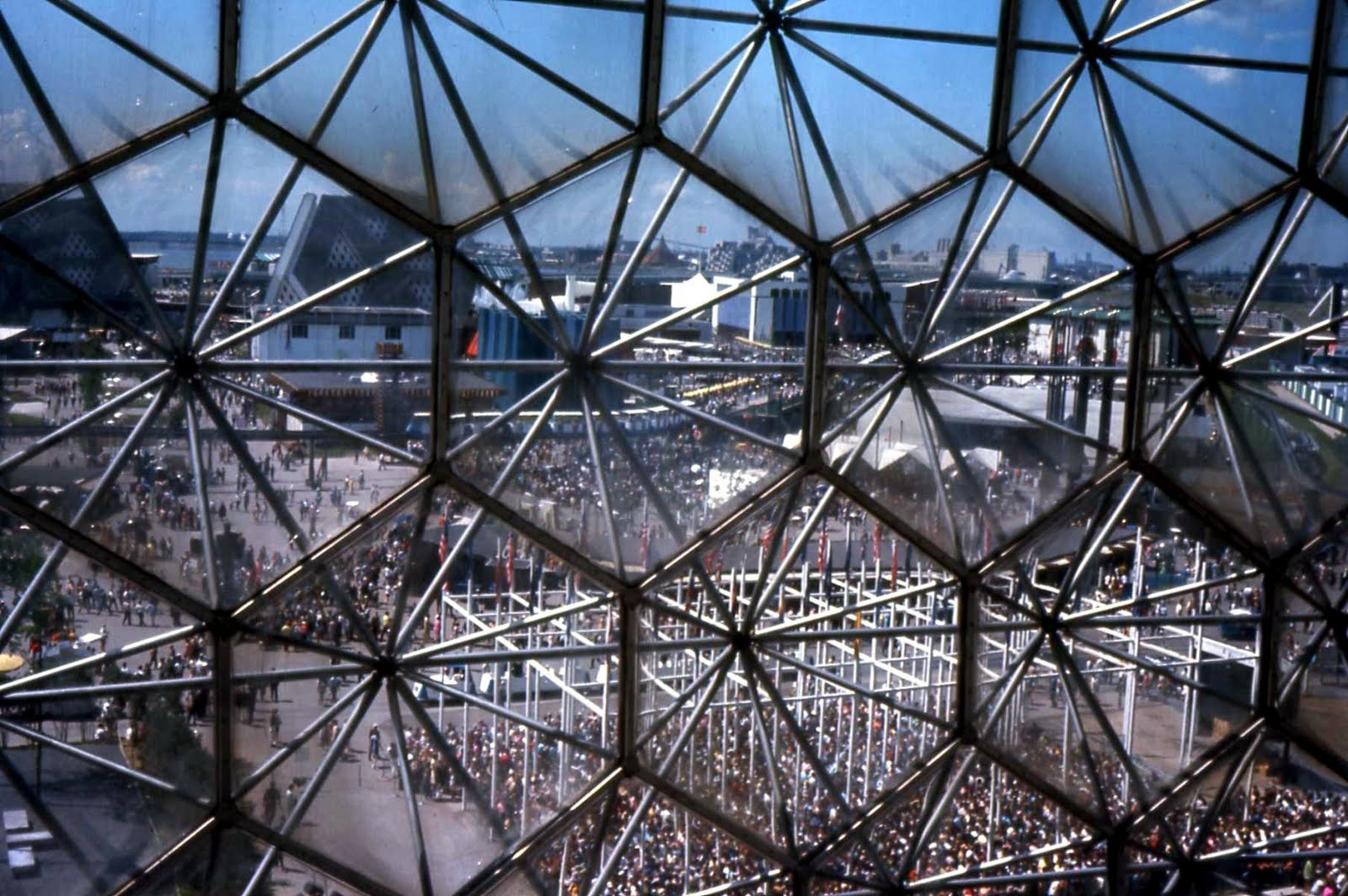 The Mathematical Tourist Hexagons Pentagons And Geodesic Domes