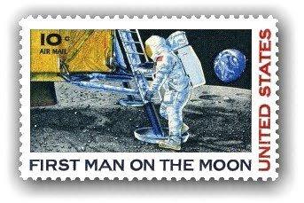 Resultado de imagen de sellos apollo 11