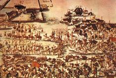 Festividad de San Javier en la reducción puesta bajo su advocación