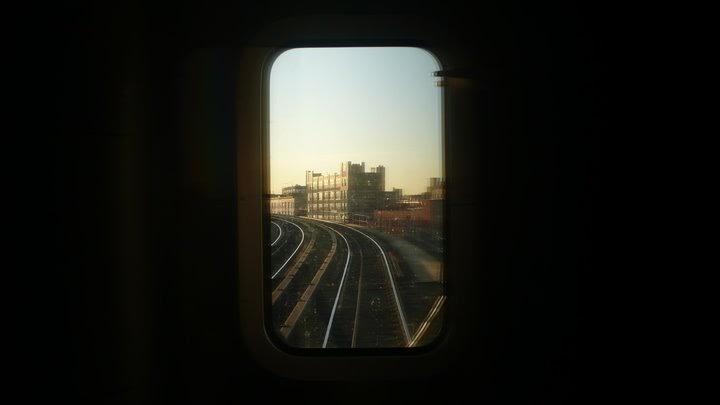 Tom Waits Downtown Train