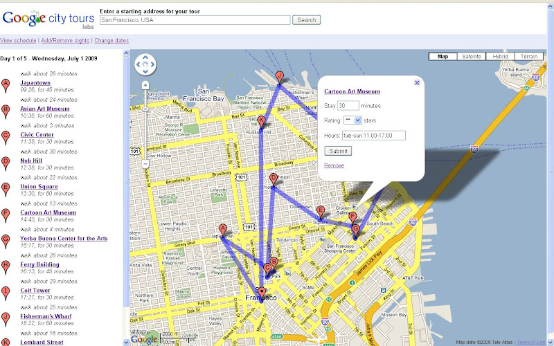 Google-City-Tour