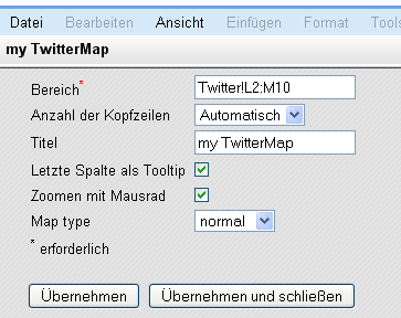 Google-Docs-Twitter-Profile-Maps