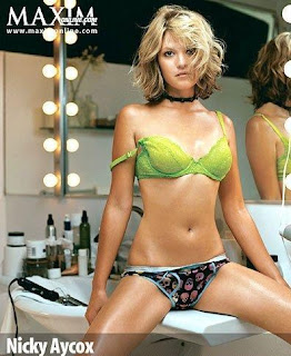 super hot Nicki Aycox maxim