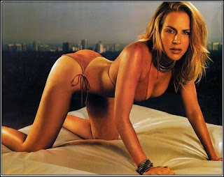 Saw 5 sexy Julie Benz in lingerie
