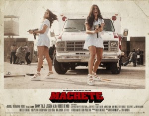 Elise and Electra Avellan,sexy nurses from Machete