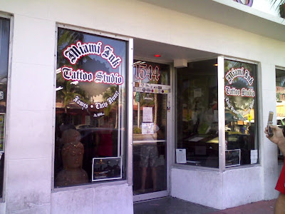 Travel tips miami information miami info of miami ink for Tattoo shops in miami beach