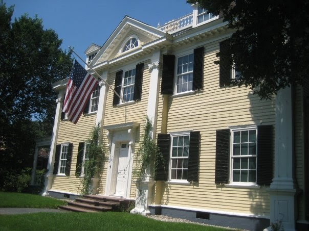 Wadsworth House Harvard. The house was built in 1759