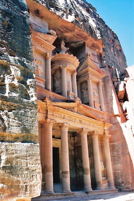 El Treasury o Tesoro de Petra. La ciudad olvidada