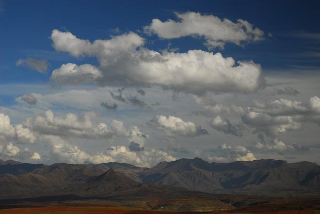 Las montañas de Lesotho