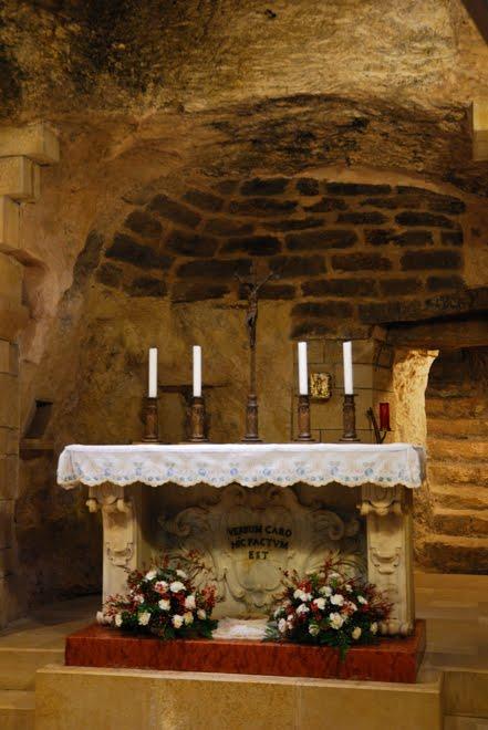 La Iglesia de la Anunciación en Nazareth