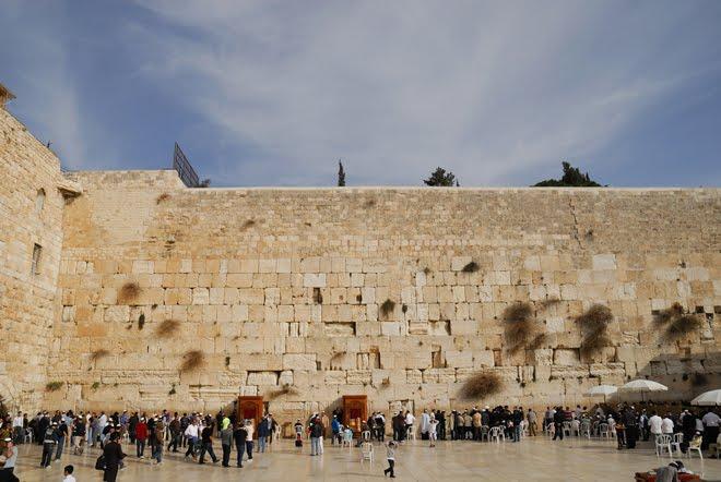 El lugar más sagrado para los Judíos: El Muro de las Lamentaciones