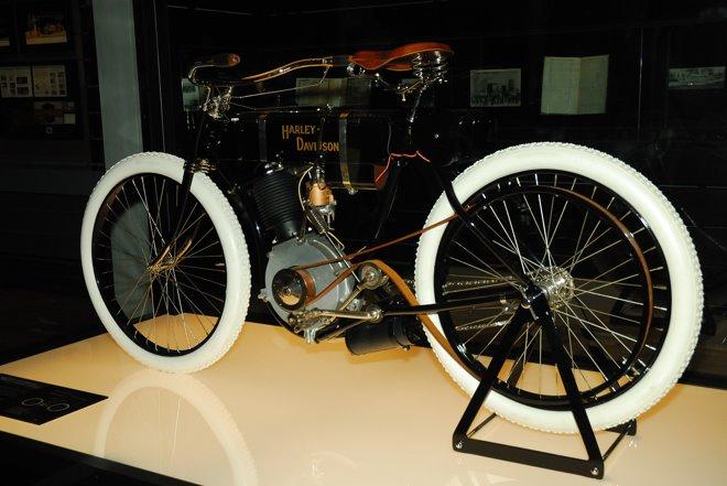 La primera Harley-Davidson fabricada en 1903! Tiene el número de serie 1
