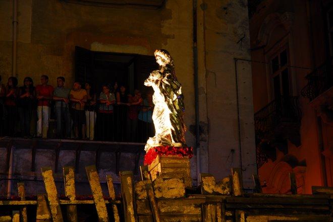 Procesión por Santa Rosalía, patrona de Palermo