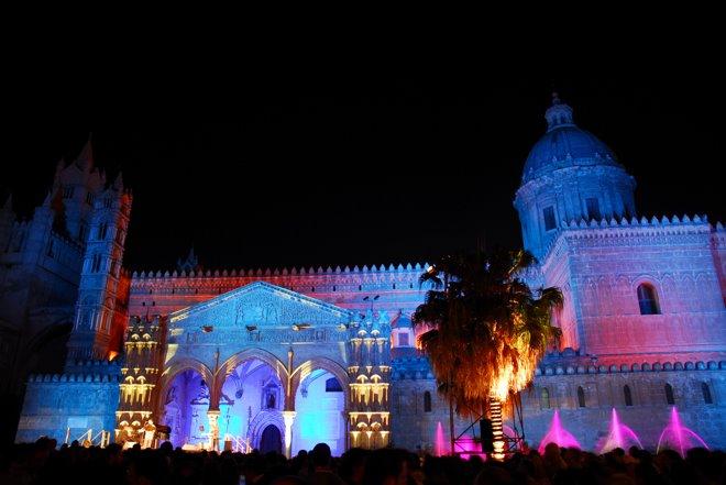Concierto en la catedral de Palermo