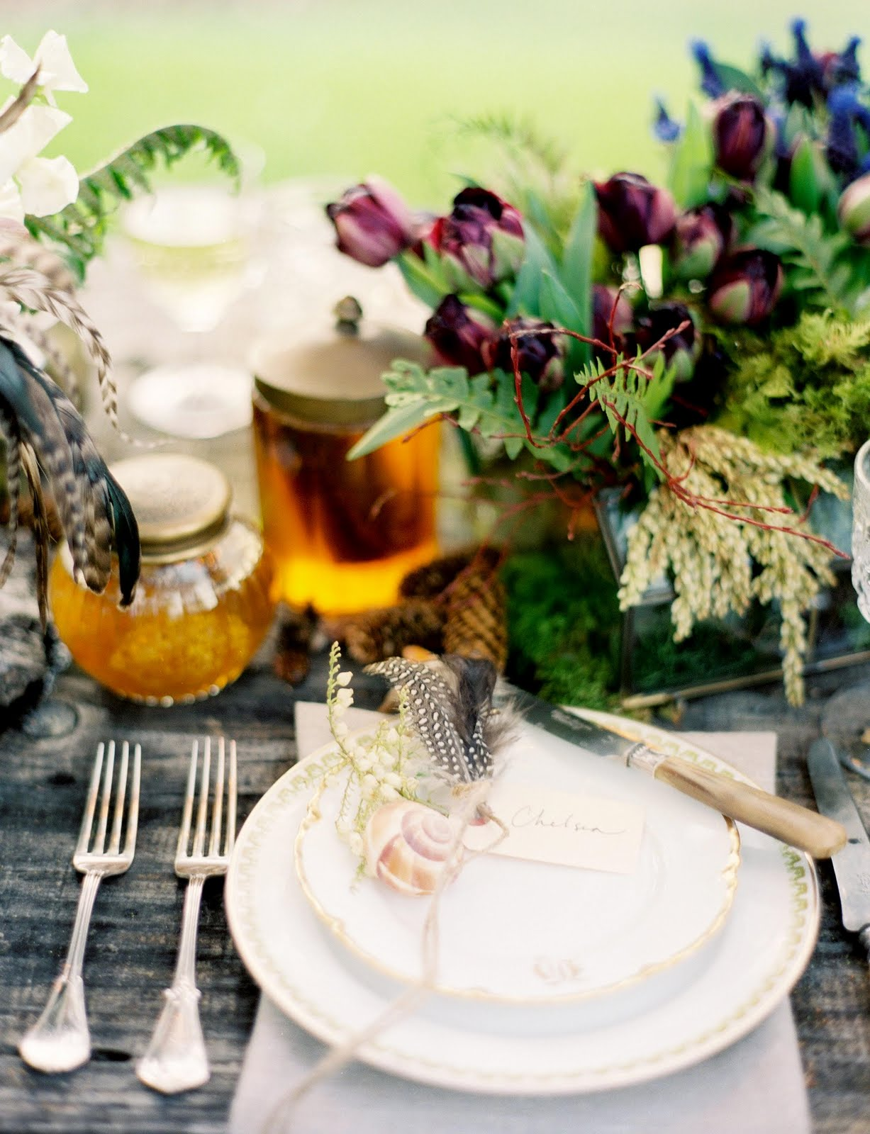 Rustic Glam Table