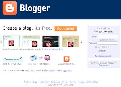layout baru blogger