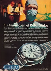 Seiko Bellmatic Advert ca.70s