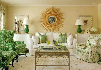 Designliving Room on Luxury Living Room Design  With Light Green Decors