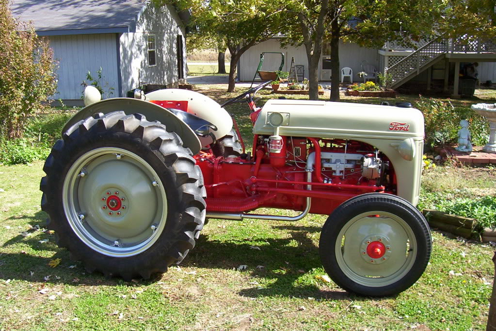 Hicksposts Frank S Tractor