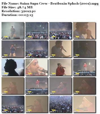 Saian Supa Crew Saian+Supa+Crew+-+Beatboxin+Splash+%282001%29