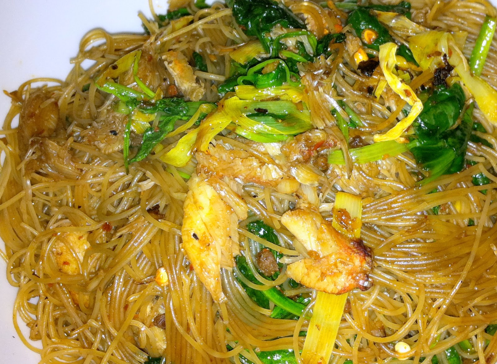 Pan Fried Crab Noodles