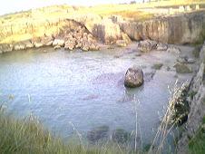 Il meraviglioso mare di Roca