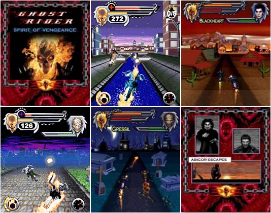 Ghost rider mobile java Game NOKIA / LG / SAMSUNG Free Download