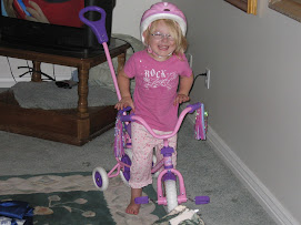 "Kaylie""s new bike!"