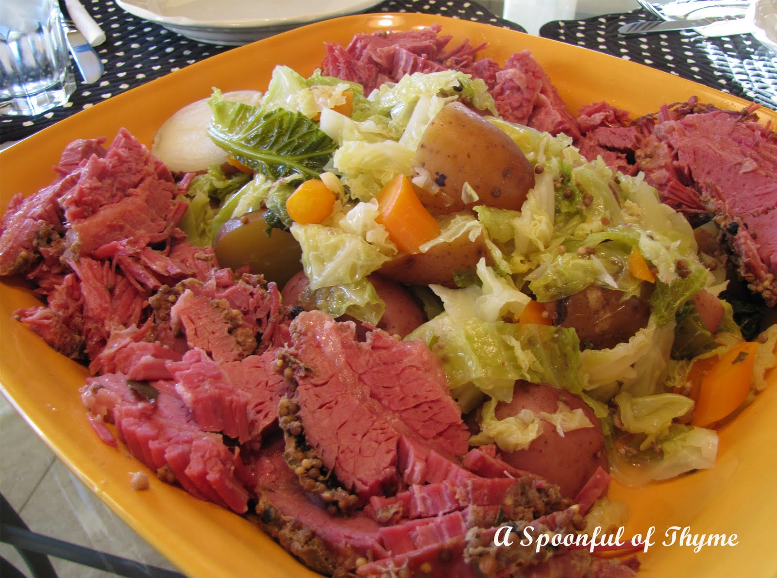 cabbage suzanne goin s corned beef and cabbage with parsley mustard