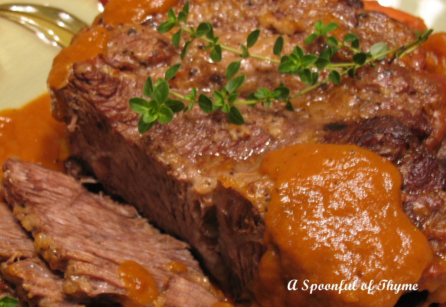 Spoonful of Thyme: Company Pot Roast