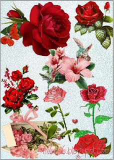 Рози в psd формат
