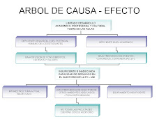 ARBOL CAUSA - EFECTOS