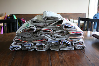 Multiple Newspapers for couponing